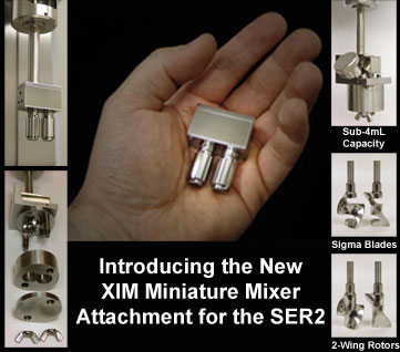 Introducing the New XIM Miniature Mixer Attachment for the SER2